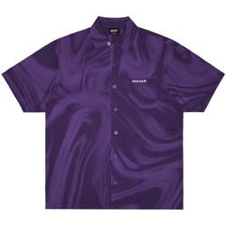 Vêtements Homme Chemises manches courtes Jacker Purple potion Violet