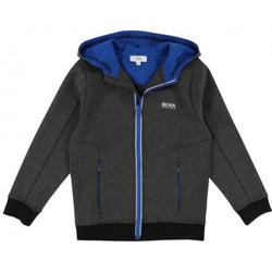 Vêtements Enfant Sweats BOSS Sweat junior Hugo   J25C69 gris Gris