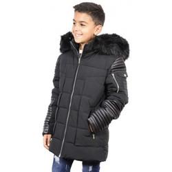 Vêtements Enfant Doudounes Boom Kids Doudoune junior synthétique ref:BK-17015KA  noir Noir