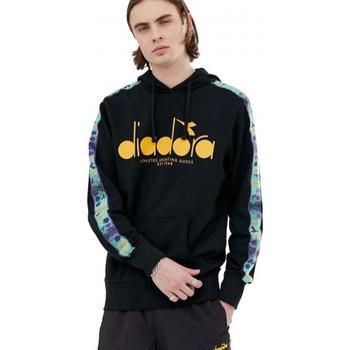 Vêtements Homme Sweats Diadora Sweat homme 502175376 noir orange Noir