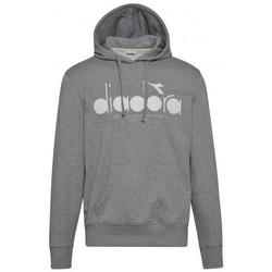 Vêtements Homme Sweats Diadora Sweat homme  gris clair 502173623 Gris