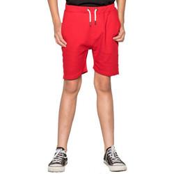 Vêtements Enfant Maillots / Shorts de bain Deeluxe Short junior  PUFF rouge Rouge
