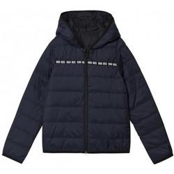 Vêtements Enfant Doudounes BOSS Blouson Hugo  bleu marine junior Bleu