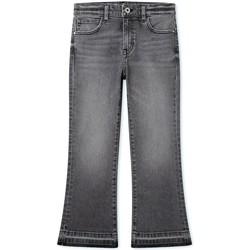 Vêtements Fille Jeans bootcut Pepe jeans  Gris