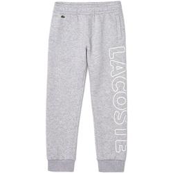 Vêtements Garçon Pantalons de survêtement Lacoste - Pantalone grigio XJ6901-CCA GRIGIO