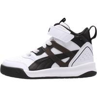 Chaussures Garçon Basketball Puma - Backcourt mid bianco/nero 374410-04 BIANCO