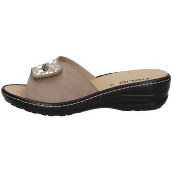 Chaussures Femme Mules Tiglio 2700 BEIGE