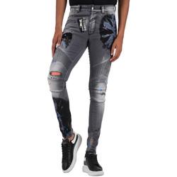 Vêtements Homme Jeans Boragio Jeans  gris - 7346 Gris