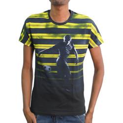 Vêtements Homme T-shirts manches courtes Bikkembergs T-shirt  Bleu Bleu