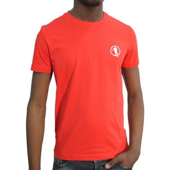 Vêtements Homme T-shirts manches courtes Bikkembergs Tshirt Bikkemberg - C701619E1823 ROUGE Rouge
