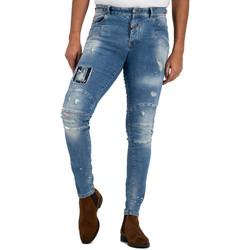Vêtements Homme Jeans Boragio Jeans  - 7415 bleu Bleu