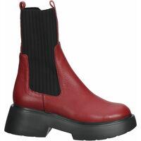 Chaussures Femme Boots Wonders Bottines Rot/Schwarz