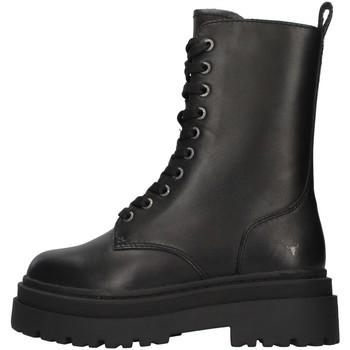 Chaussures Femme Bottines Windsor Smith WSSPAYBACK NOIR