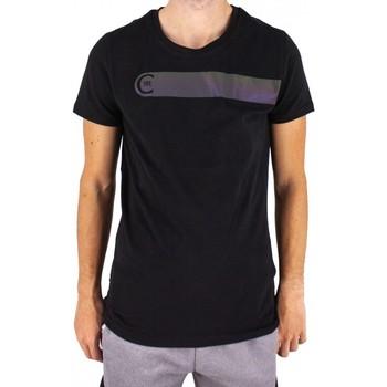 Vêtements Homme T-shirts manches courtes Cerruti 1881 St-michel Noir