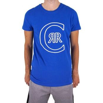 Vêtements Homme T-shirts manches courtes Cerruti 1881 Colleville Bleu