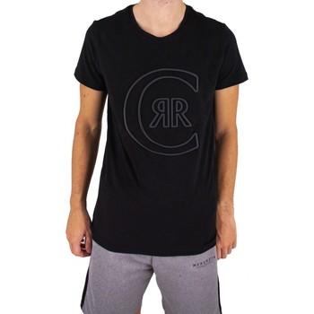 Vêtements Homme T-shirts manches courtes Cerruti 1881 Colleville Noir