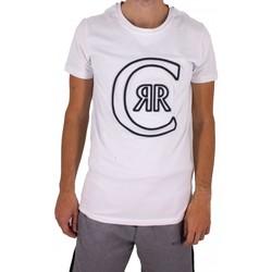 Vêtements Homme T-shirts manches courtes Cerruti 1881 Colleville Blanc