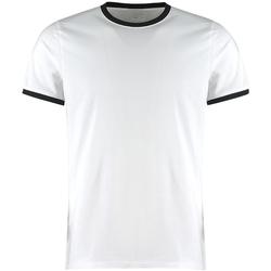Vêtements Homme T-shirts manches courtes Kustom Kit KK508 Blanc / noir