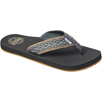 Chaussures Homme Tongs Reef Smoothy Braun