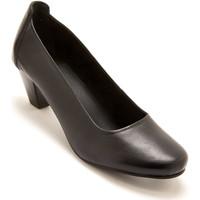 Chaussures Femme Escarpins Pediconfort Escarpins cuir grande largeur noir