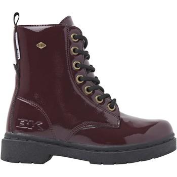 Chaussures Fille Boots British Knights BLAKE FILLES CHAUSSURE MI-HAUTE bordeaux