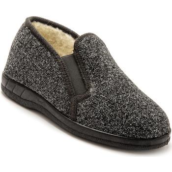 Chaussures Homme Chaussons Honcelac Sans-gêne fourrés laine grischevrons