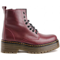 Chaussures Femme Boots Colour Feet 124 Rouge