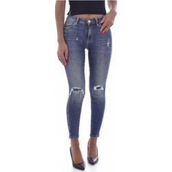 Vêtements Femme Jeans slim Guess W1BAJ3 D4H12 Bleu