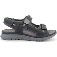 Chaussures Homme Sandales et Nu-pieds Enval INBLU GA-29 Sandali scarpe ciabatte uomo grigio gomma Blue