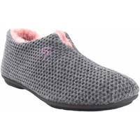Chaussures Femme Chaussons Garzon Go home Mme  5821.291 gris Gris