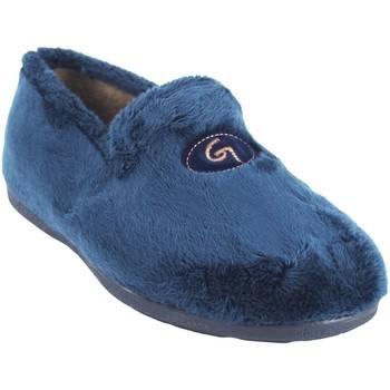 Chaussures Homme Chaussons Garzon Go by house gentleman  6501.275 bleu Bleu