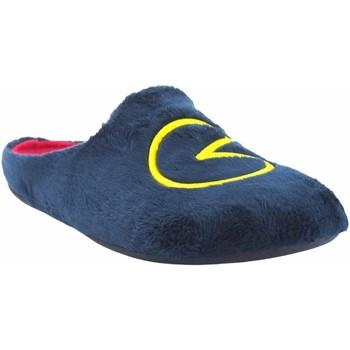 Chaussures Homme Chaussons Garzon Go home gentleman  8304.275 bleu Bleu