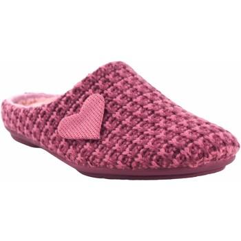 Chaussures Femme Chaussons Garzon Rentrez chez Mme  5501.345 mauve Rose