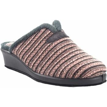 Chaussures Femme Chaussons Garzon Rentre chez Mme  1725.527 saumon Gris