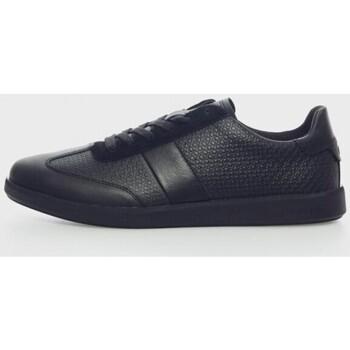 Chaussures Homme Baskets basses Calvin Klein Jeans LOW TOP LACE UP NANO MONO Noir