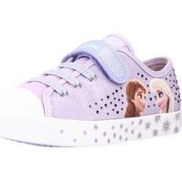 Chaussures Fille Baskets basses Geox JR CIAK GIRL A Violet