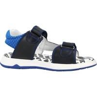 Chaussures Garçon Sandales et Nu-pieds Garvalin 212642 Bleu