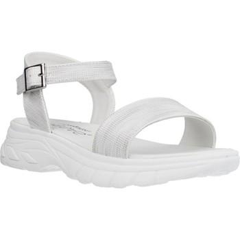 Chaussures Fille Sandales et Nu-pieds Conguitos LV553003 Argent