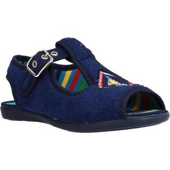 Chaussures Fille Chaussons Chispas 38155015 Bleu
