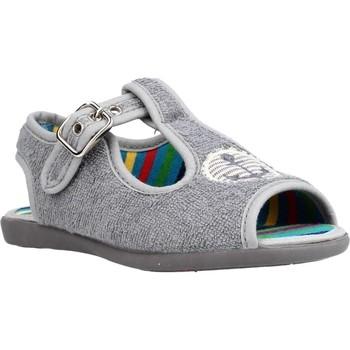 Chaussures Garçon Chaussons Chispas 38155016 Gris