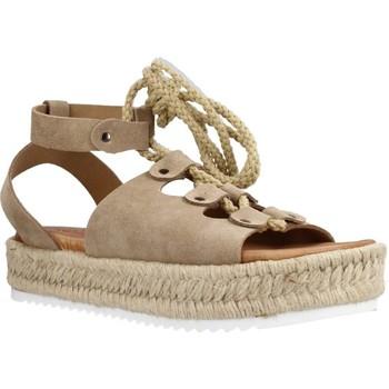 Chaussures Femme Espadrilles Porronet 2763P Marron