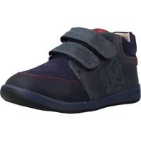 Chaussures Garçon Baskets montantes Garvalin 191311 Bleu