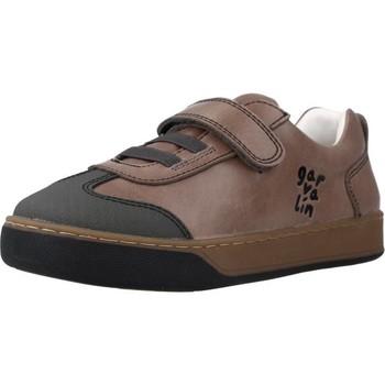 Chaussures Garçon Baskets basses Garvalin 201450 Marron