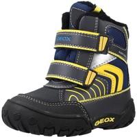 Chaussures Garçon Bottes Geox B GULP B BOY ABX Bleu