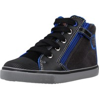 Chaussures Garçon Bottes Geox B KILWI BOY Bleu