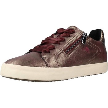Chaussures Femme Baskets basses Geox D BLOMIEE D´or