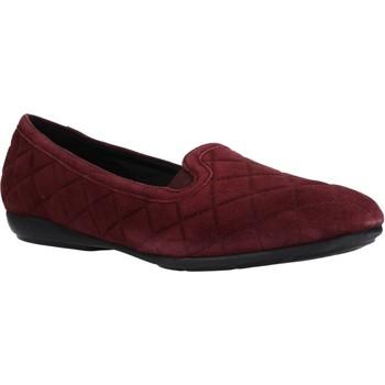 Chaussures Femme Ballerines / babies Geox D ANNYTAH Rouge