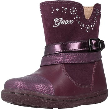 Chaussures Fille Bottes Geox B FLICK GIRL Violet