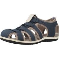 Chaussures Femme Sandales et Nu-pieds Geox D SANDAL VEGA Bleu