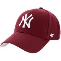 Accessoires textile Casquettes 47 Brand New York Yankees MVP Cap Bordeaux